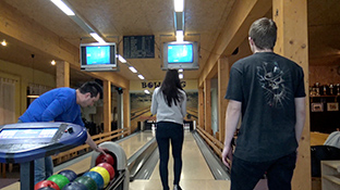 Sex beim Bowling - Strike!